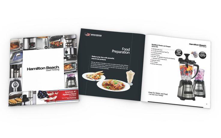 Sales Catalog Design for HAMILTON BEACH BRANDS (USA)