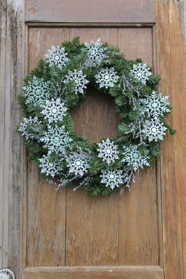 564 Best Wreaths Images On Pinterest Christmas Wreaths Winter