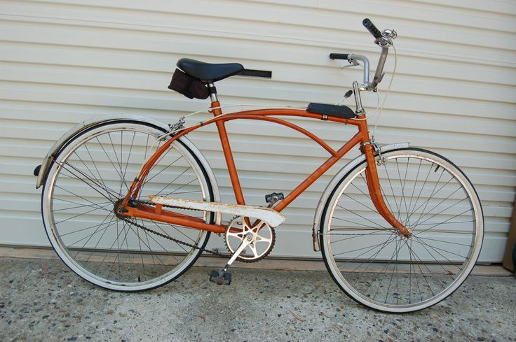 My Speedwell GTS 1970 bicycle (before restoration - works well)