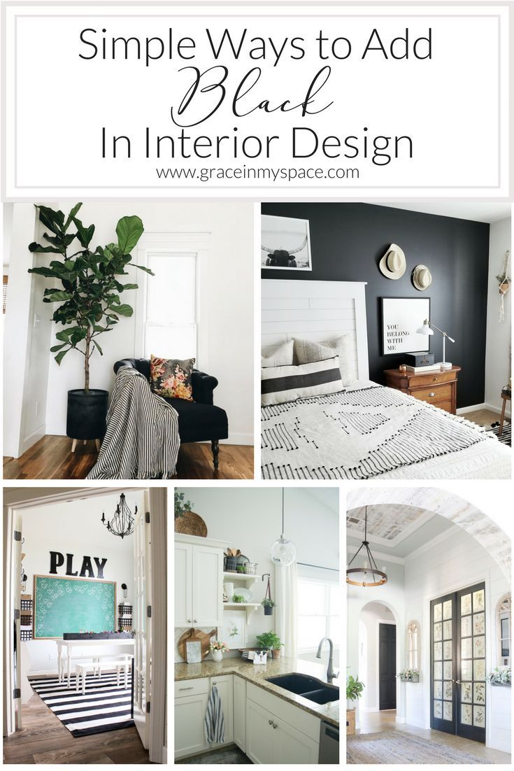 5 Ways To Incorporate Black In Interior Design Interior Interior Design Interior Design Elements