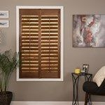 Dress windows for less with wood & faux wood shutters from justblinds. This classic window covering adds elegance & value to your home. Free shipping, shop now!
