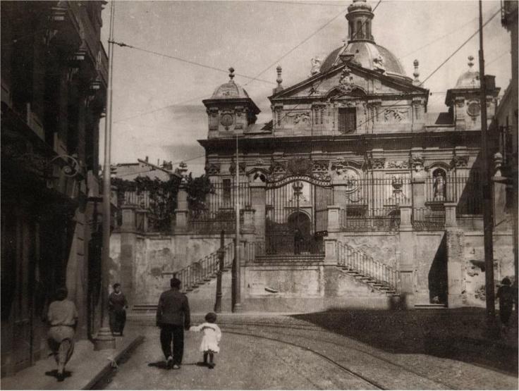 Iglesia de Santa Bárbara en 1930,