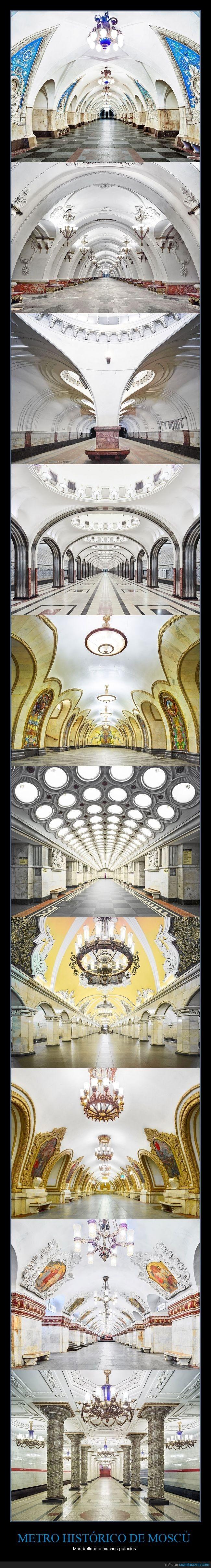 Igualito que el metro en mi ciudad, vamos... - Más bello que muchos palacios   Gracias a http://www.cuantarazon.com/   Si quieres leer la noticia completa visita: http://www.estoy-aburrido.com/igualito-que-el-metro-en-mi-ciudad-vamos-mas-bello-que-muchos-palacios/