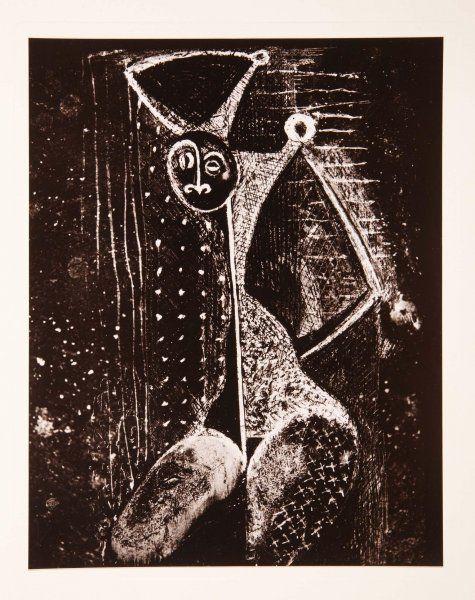 Brassaï (Gyula Halász): Transmutations. II: sévillane dénudée (Transmutaciones. II: sevillana desnuda)
