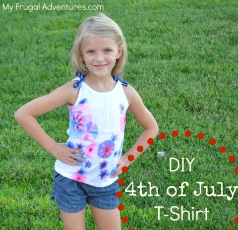 homemade patriotic shirt