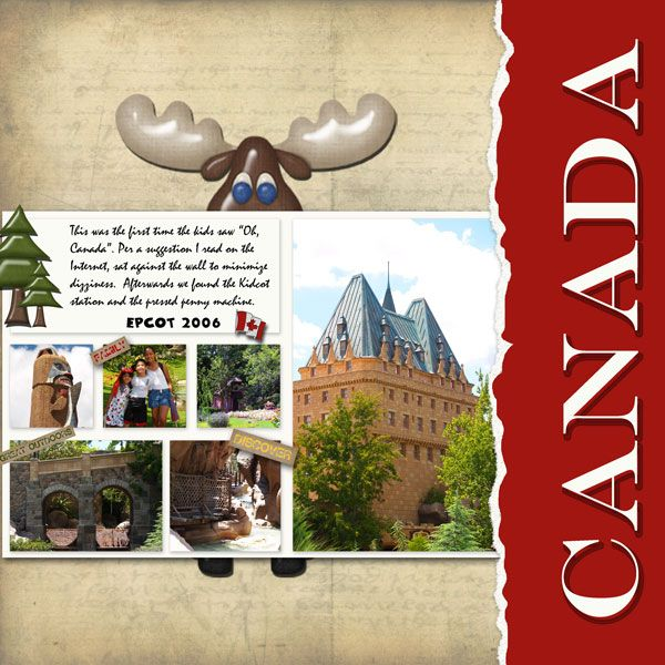 Canada layouts (General) - MouseScrappers.com