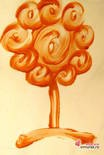 Copac din crema de ras