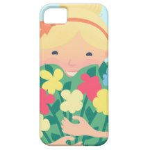 Smiling Girl iPhone 5 Covers