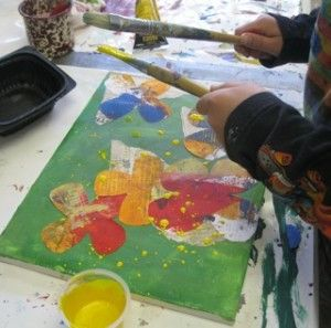An art lesson with Mimmy. marjistevens.com