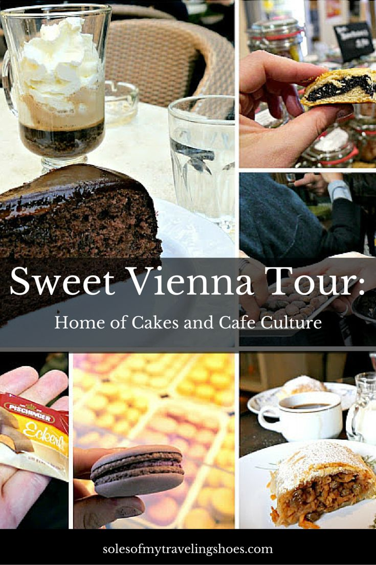 Vienna is known for it's coffee, cake, and cafe culture.