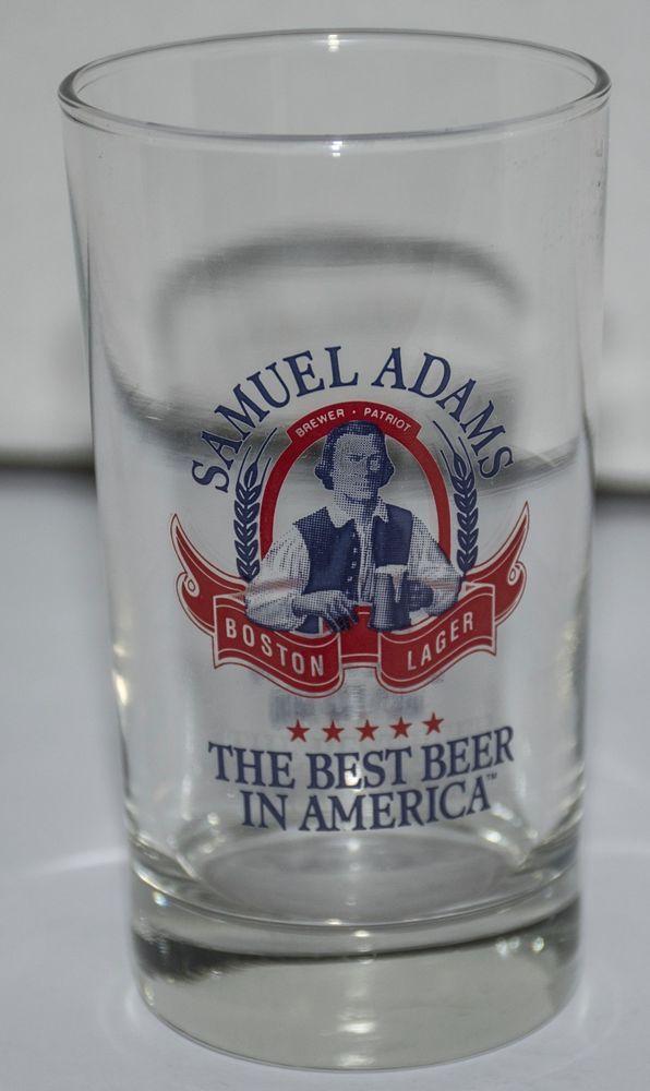 SAMUEL ADAMS BOSTON LAGER SAMPLER GLASS
