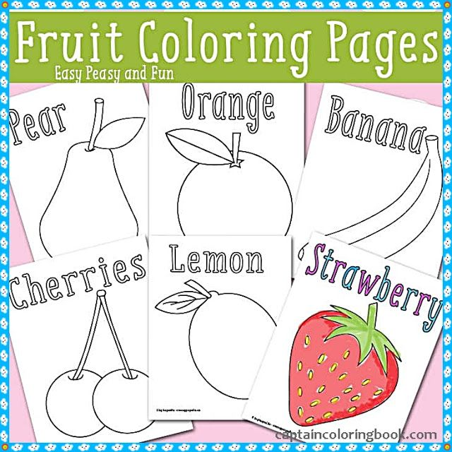 Pdf Fruits And Vegetables Coloring Pages Download Vegetable Coloring Pages Fruit Coloring Pages Coloring Pages