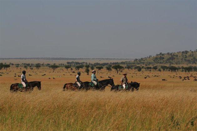 Horseback Safari - The Great Migration through Singita Grumeti