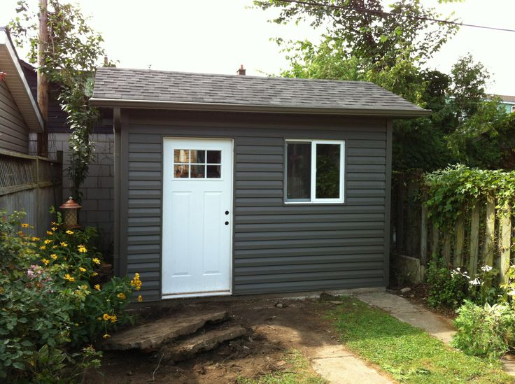 Shed, Door, Window, Roof, Siding, Soffit, Fascia, Eaves,