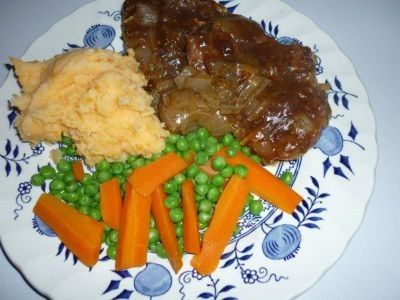 Slow cooked and very tender.