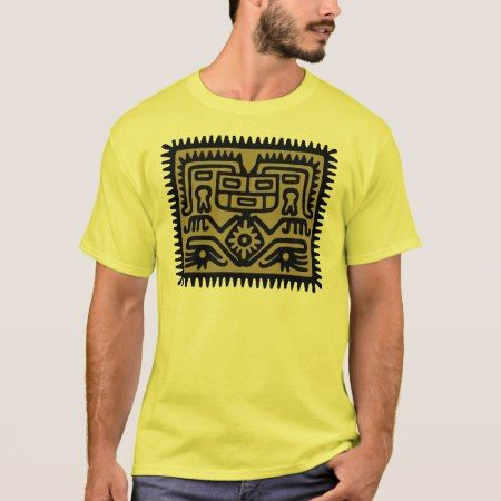 aztec hocker T-Shirt - click/tap to personalize and buy