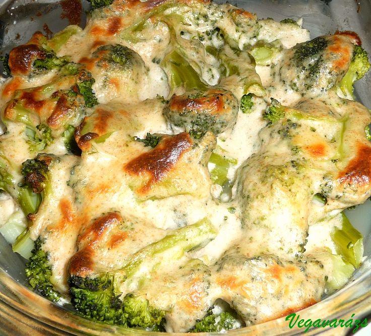 Vegavarázs » Rakott brokkoli