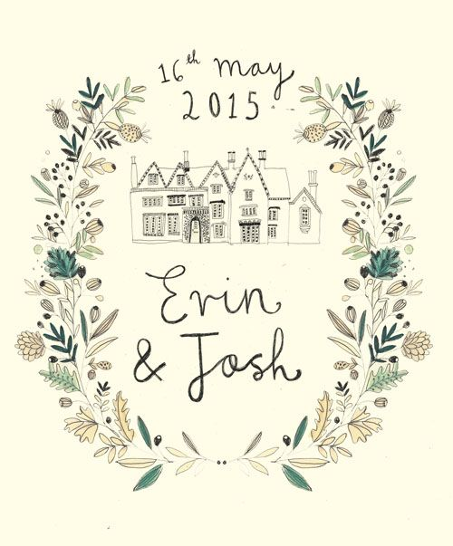 Wedding Stationery. Katt Frank design