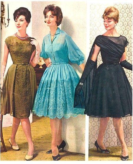 Party dresses, 1950's by helga