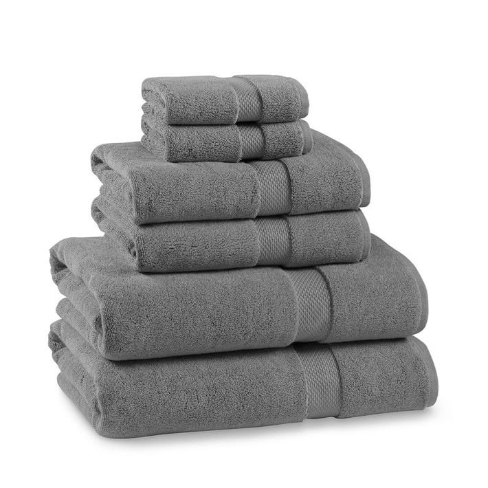 Pewter Towel 800 G Turkish Cotton Towel Washing Clothes Towel Set