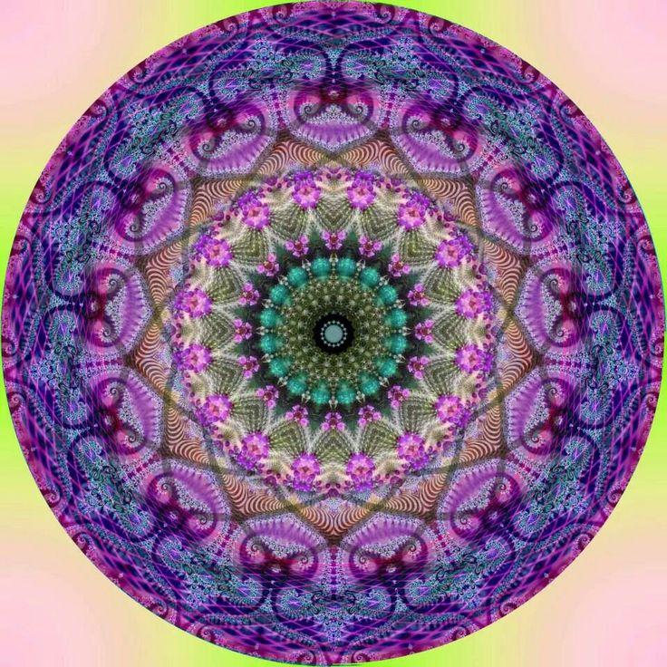 203 best Kaleidoscope Mandala Fractal ☸ images on Pinterest