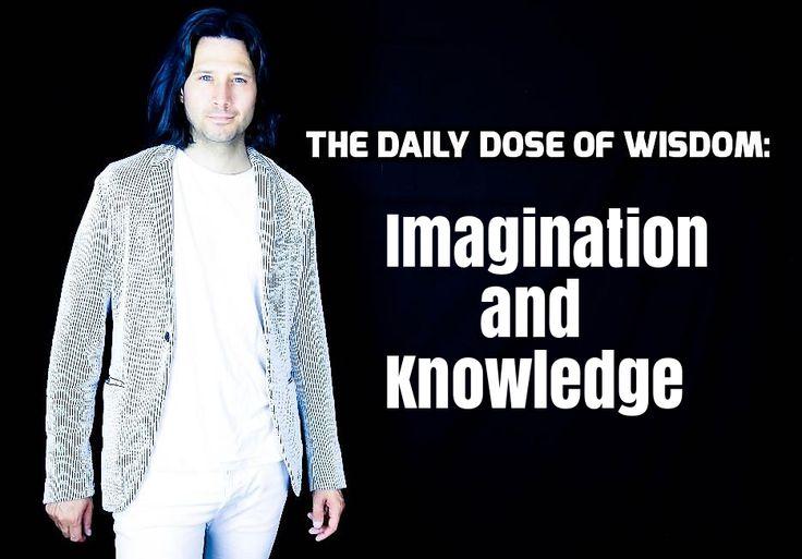 #Imagination and #Knowledge : https://youtu.be/4bo2wAYYZ8o