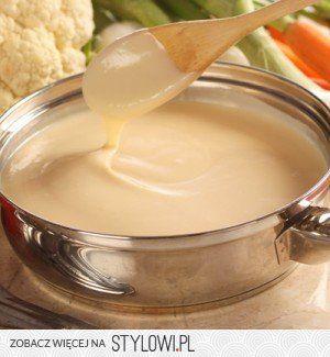 Sos Beszamelowy  Składniki: 500 ml mleka łyżka masła 3…