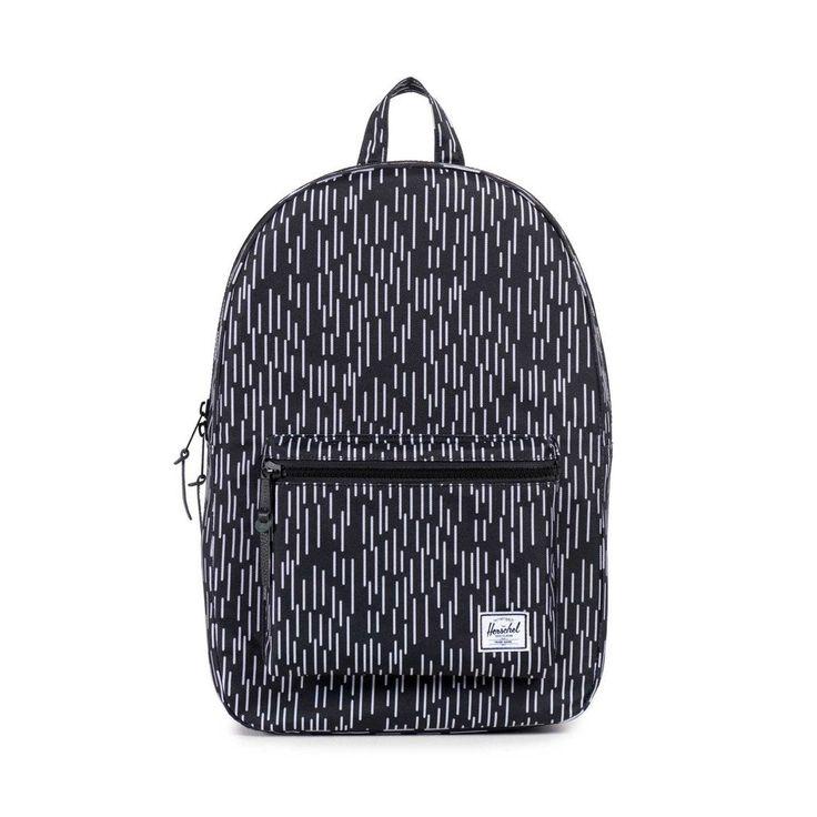 Herschel Supply Co. - Settlement Backpack, Black/White Rain Camo