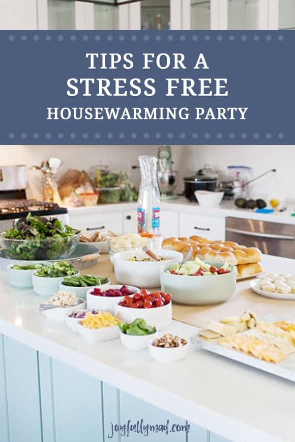 How To Host A Stress Free Housewarming Party Housewarming Party House Warming Dinner Party Games