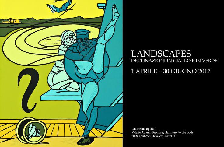"""Dal 1 aprile al 30 giugno 2017, alla Galleria 2000&Novecento di #ReggioEmilia, """"Landscapes. Declinazioni in giallo e in verde"""". Vi aspettiamo!"""