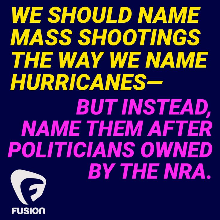 Sadly, there have been more shootings than there are politicians to name them after. But hey, after we're done with politicians, maybe we can use names of prominent assholes in the NRA lobbying for no gun conrol. Maybe this is what it will take to finally shock these people into fucking enforcing existing and passing stronger common gun sense laws. As far as I'm concerned, all this blood is on their hands.