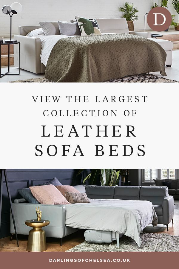 Leather Sofa Beds In 2020 Leather Sofa Bed Luxury Bedroom Design Leather Sofa