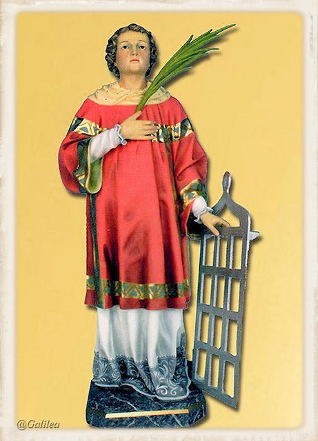 Testimonios para Crecer: San lorenzo mártir, 10 de Agosto