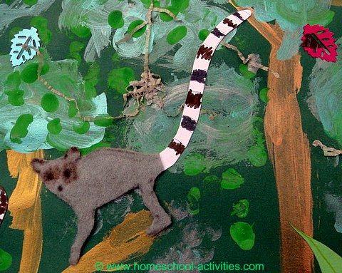 More rainforest activities