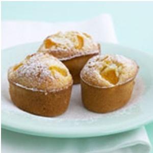 RECIPES - White Chocolate, Coconut and Peach Friands    http://gingko.co.za/delicious-healthy-recipes/
