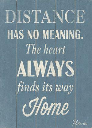 Distance Wall Art