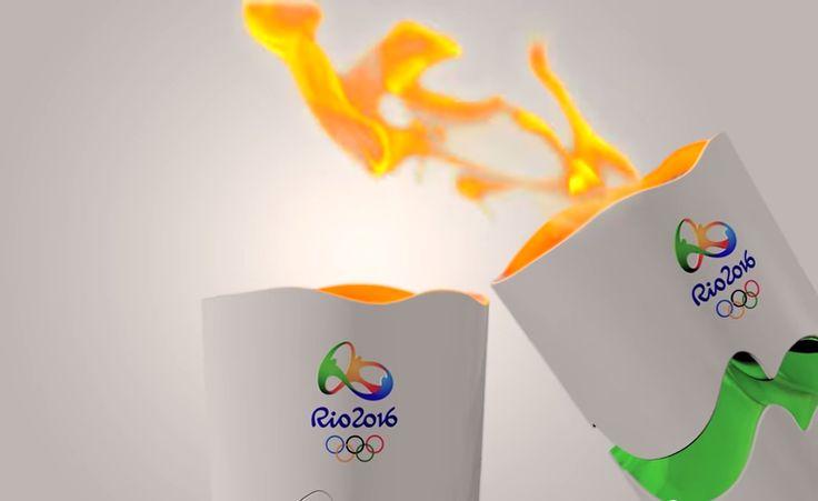 REVEZAMENTO DA TOCHA OLÍMPICA RIO 2016 – #ChamaGeral
