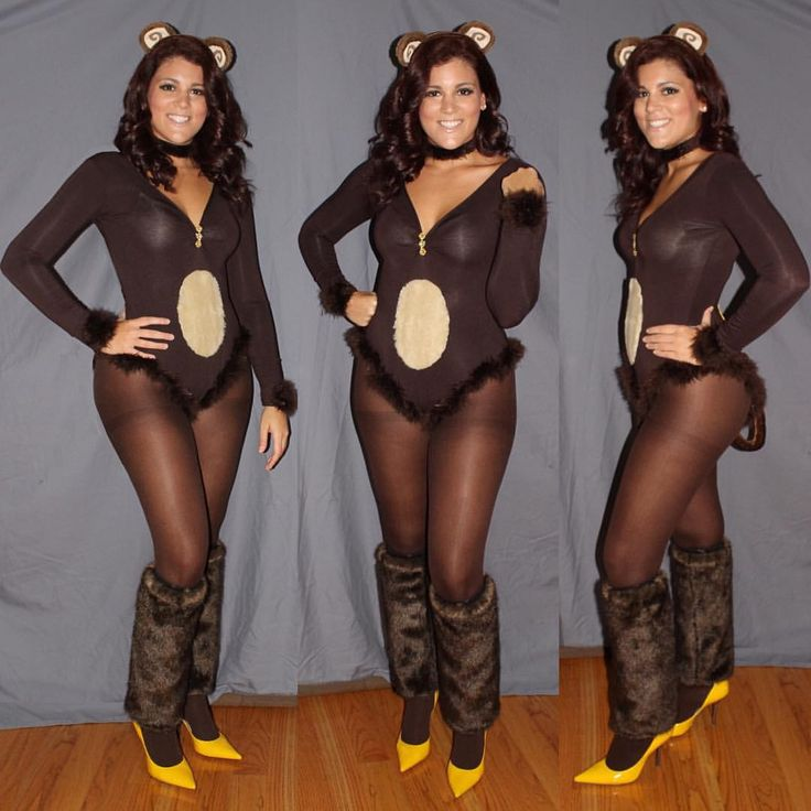 "Clothes your Custom Eyes on Instagram: ""Curious George showcased by @chelsea52290 Costume Size: Medium Includes: hand decorated bodysuit, ears, tail, stockings, faux fur choker, wrist cuffs, and leg warmers """