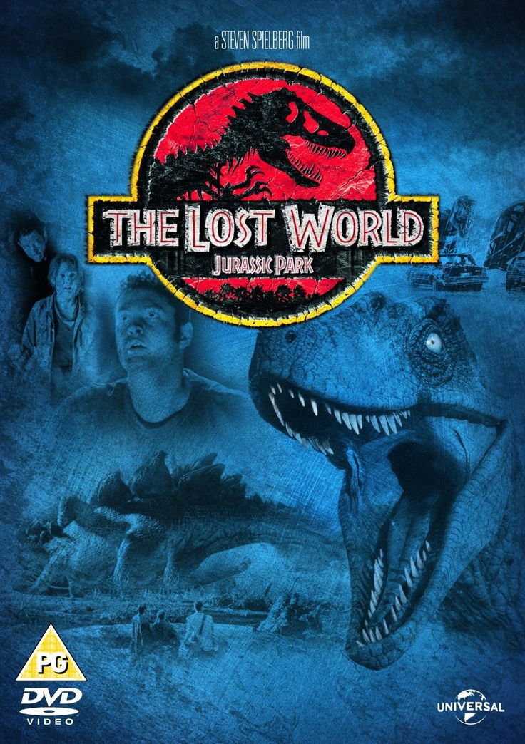 """Jurassic Park: The Lost World:  (1997) based on the novel by Michael Crichton, directed by Steven Spielberg, starring Jeff Goldblum, Julianne Moore, Pete Postlethwaite, Richard Attenborough and Vince Vaughn. """"A research team is sent to the Jurassic Park Site B island to study the dinosaurs there while another team approaches with another agenda."""""""