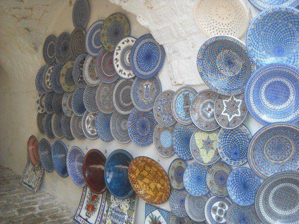 Сиди-бу-Саид: город неба, моря и красивых тарелок - География мира глазами жж-юзеров