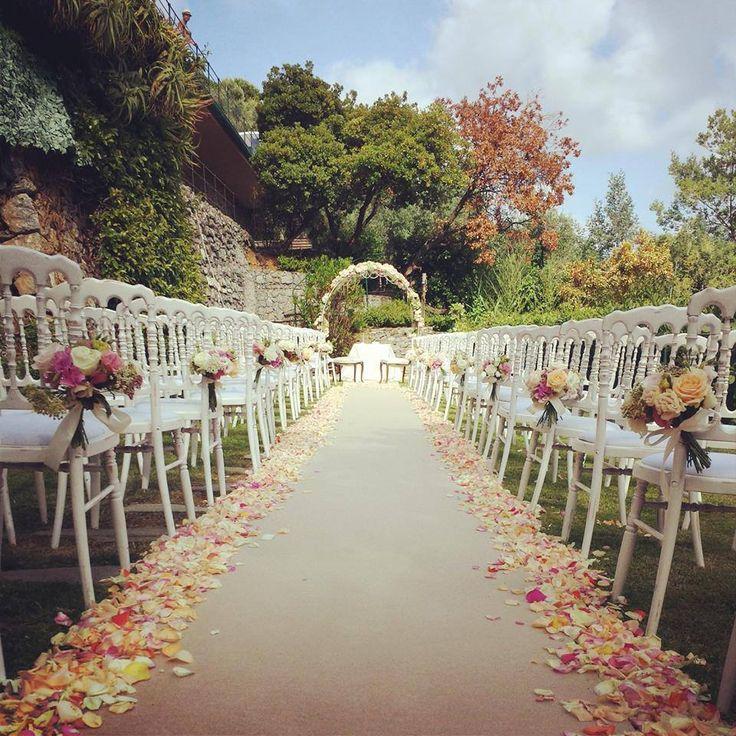 Elegant #outdoor #wedding