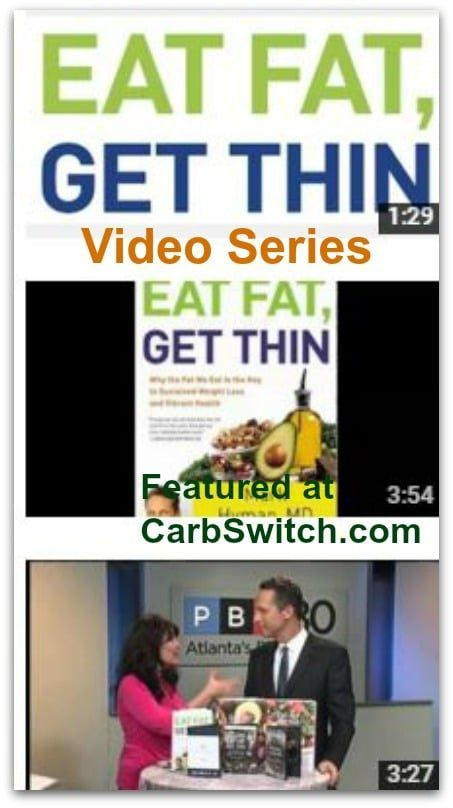Eat fat get thin hyman md video series. Watch Now. #carbswitch Please Repin.