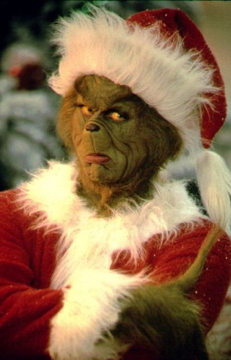 Jim Carrey stars as 'The Grinch' in the modern version of the Dr Seuss classic 'How The Grinch Stole Christmas' Photo by Ron Batzdorf