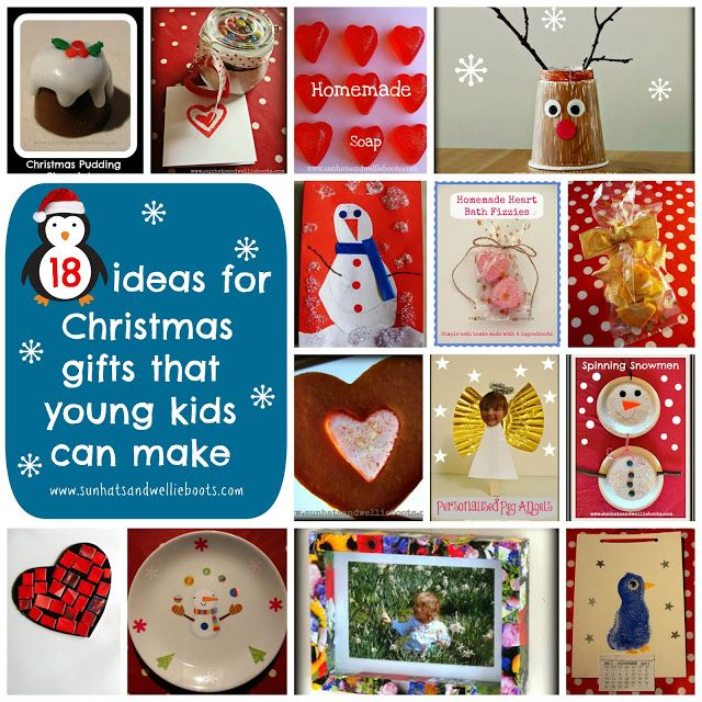 18 Homemade Christmas Gifts That Young Kids Can Make