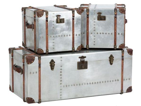 Vintage Silver Trunks - £140.00 - Hicks and Hicks