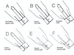 sewing variations on sleeve cuffs - Google Search