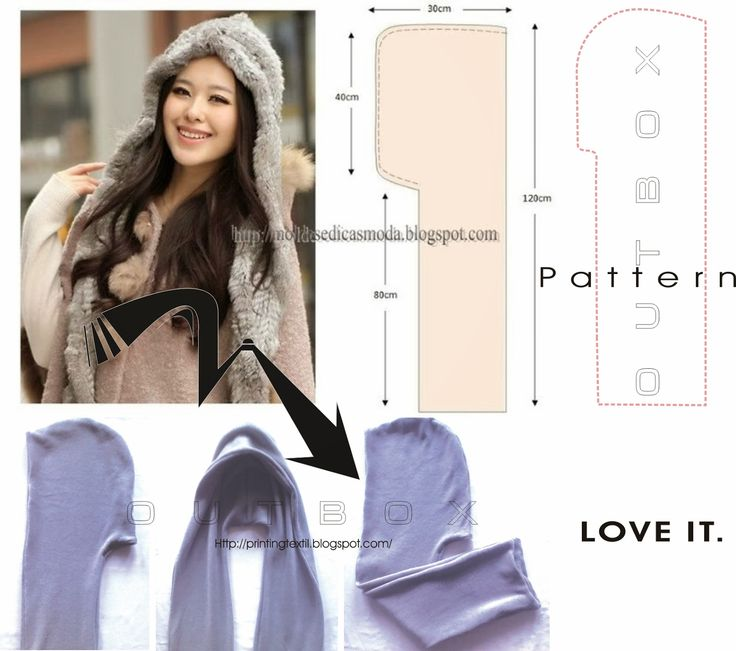 OUTBOX fashion@stuff: DIY hooded scarf