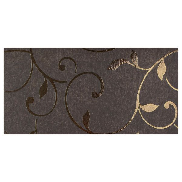 Tango Tralcio Nero Porcelain Tile Home Floored