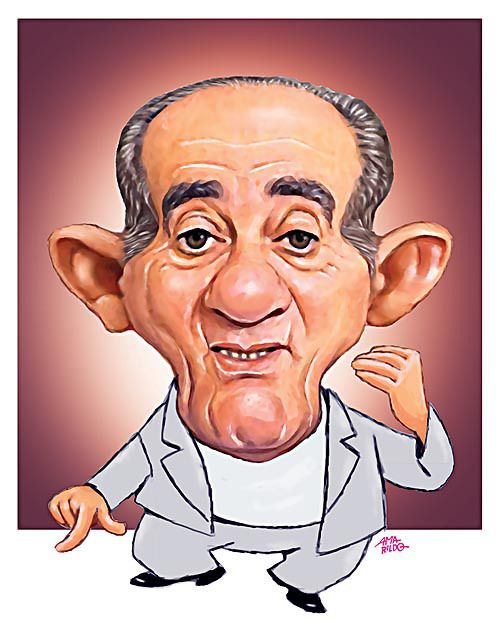 Renato Aragão - Caricatura