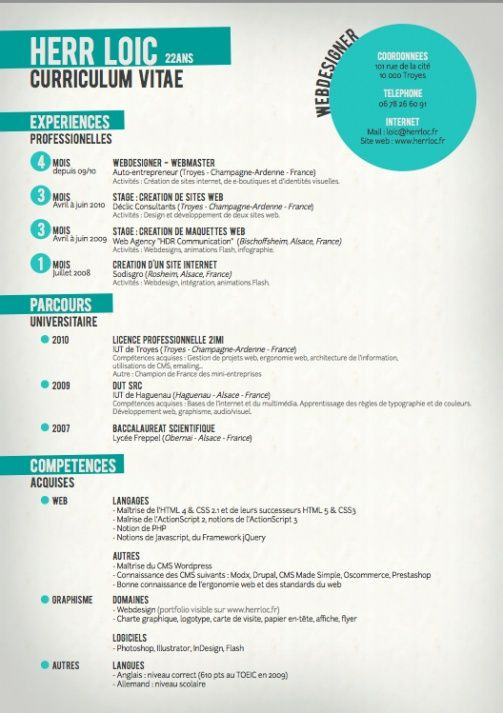 14 best Resume images on Pinterest Creative resume design, Cv - digital marketing resume